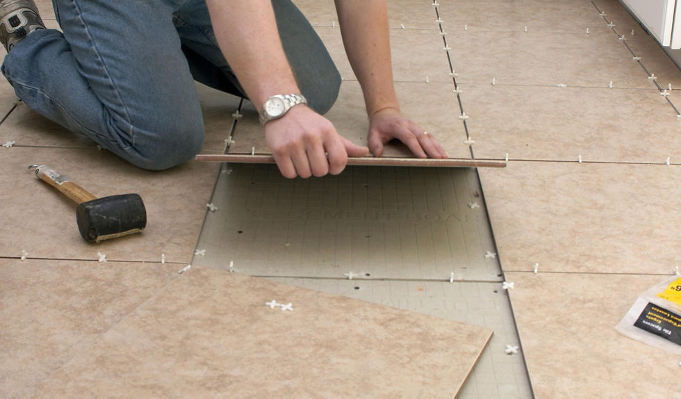 Fiche faire poser du carrelage grand format le guide for Poser du carrelage mosaique