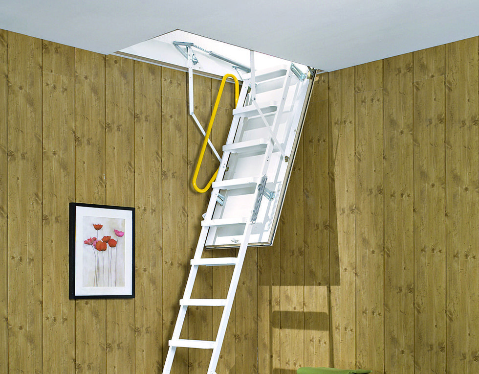 Fiche faire installer un escalier escamotable le guide - Monter un escalier escamotable ...